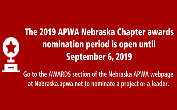 Get your nomination in by September 6th