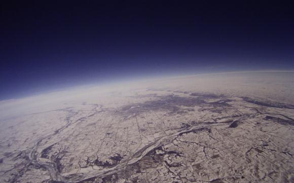 Image of Omaha from Space