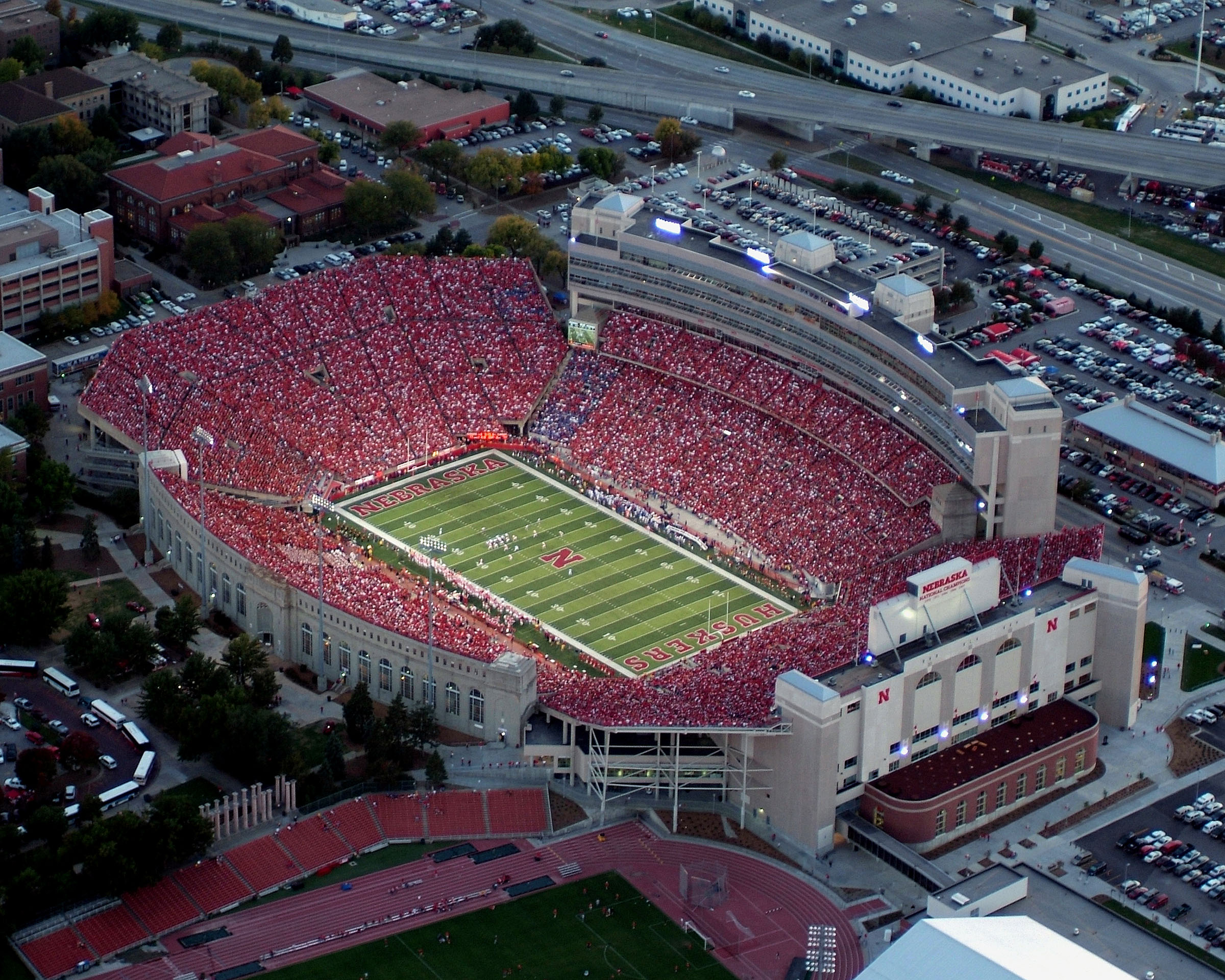 University fo Nebraska Lincoln - Memorial Stadium